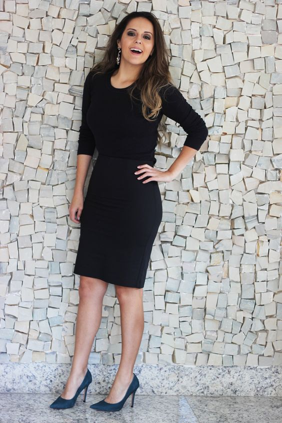 Look da Camis | Camila Gomes | Blog Sim, Senhorita | Jaqueta Jey, blusa Zara, Saia Renner, Scarpin Shoestock, bolsa Adô