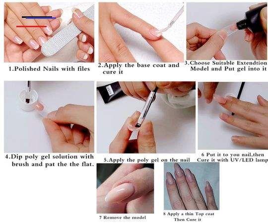 Polygel Nail Kit Polygel Nail Kit Zarahjewelry Br In 2020 Stijlvolle Nagels Nagels Gel Nagellak Ideeen