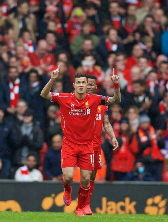 PL Liverpool vs QPR 2-1 Philip Coutinho