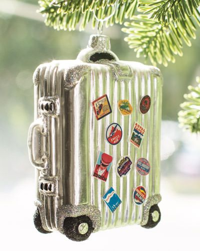 Christmas Ornaments Online Shopping Europe: Vintage Suitcases, Vintage And