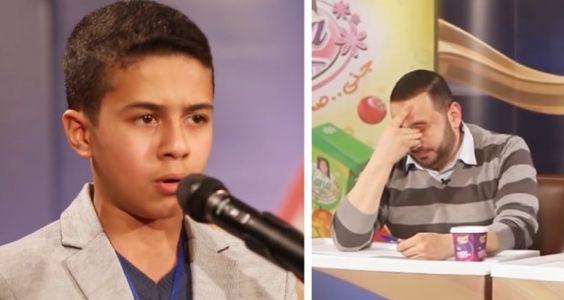 [Ces petites voix en or] Un jeune syrien émeut le jury par sa récitation du Coran