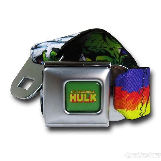 Images of Hulk Retro Seatbelt Belt