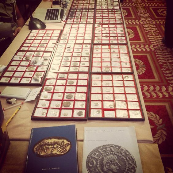 Kollectbox at Bloomsbury Coin Fair in London  www.kollectbox.com  #coins #antiquities #tokens #medallions #banknotes