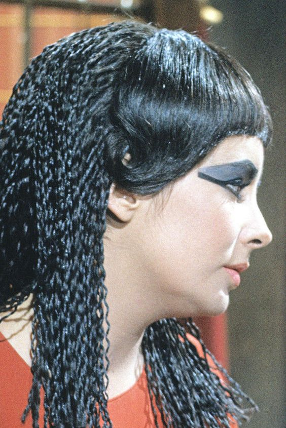 Cleopatra Elizabeth Taylor Rare Profil Pose Affiche 24x36 60x91cm   eBay