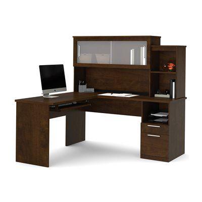 Bestar 88420-69 Dayton by Bestar L-Shaped Desk