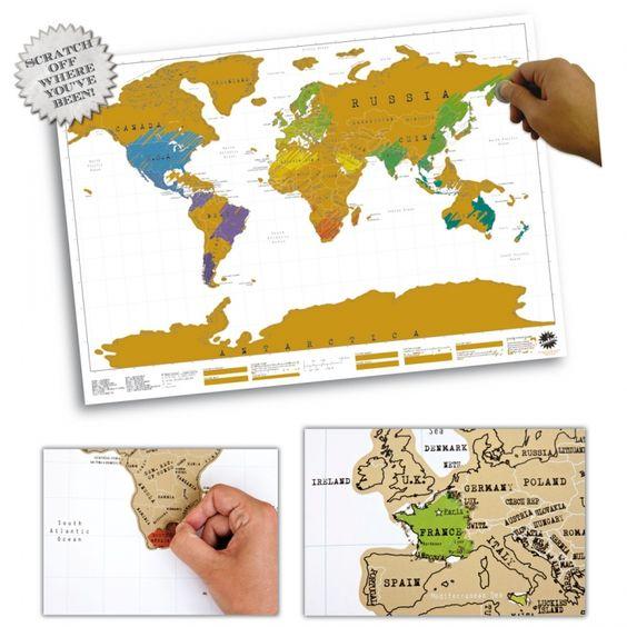 Scratch Map EUR 19,95