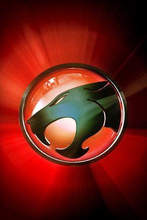 Thundercats logo red bright
