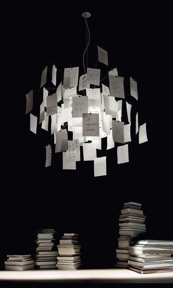 Ingo Maurer Zettel'z 5 | Ingo maurer, Design leuchten und Lampen