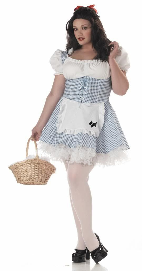 Dorothy Storybook Sweetheart Plus Size Costume