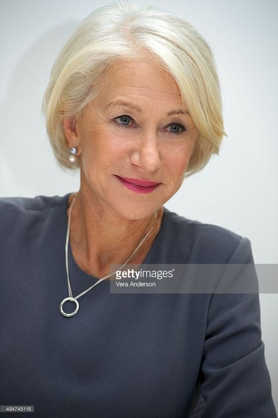 Helen Mirren at the 'Trumbo' Press Conference at the Four Seasons Hotel on October 28, 2015 in Beverly Hills, California.: