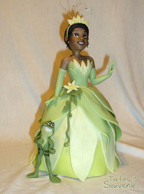 La princesa y el sapo porcelana fria cumple de la - Sapos y princesas valencia ...