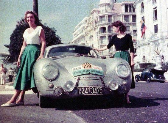 Porsche ladies 4eme TDF