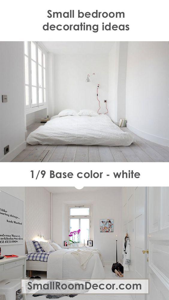 9 Modern Small Bedroom Decorating Ideas Minimalist Style On A