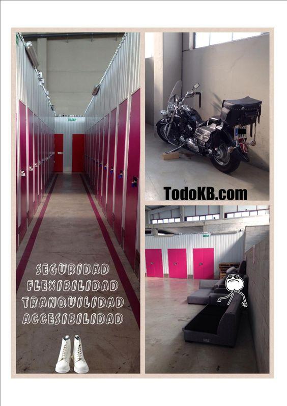 www.todokb.com Trasteros en alquiler en Pamplona para particulares y profesionales. La solución a tus problemas de espacio.