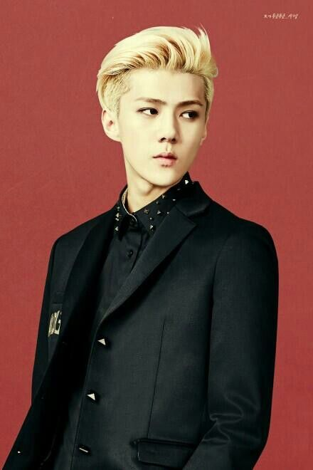 EXO's Sehun in IVY Club for Back To School photoshoot.