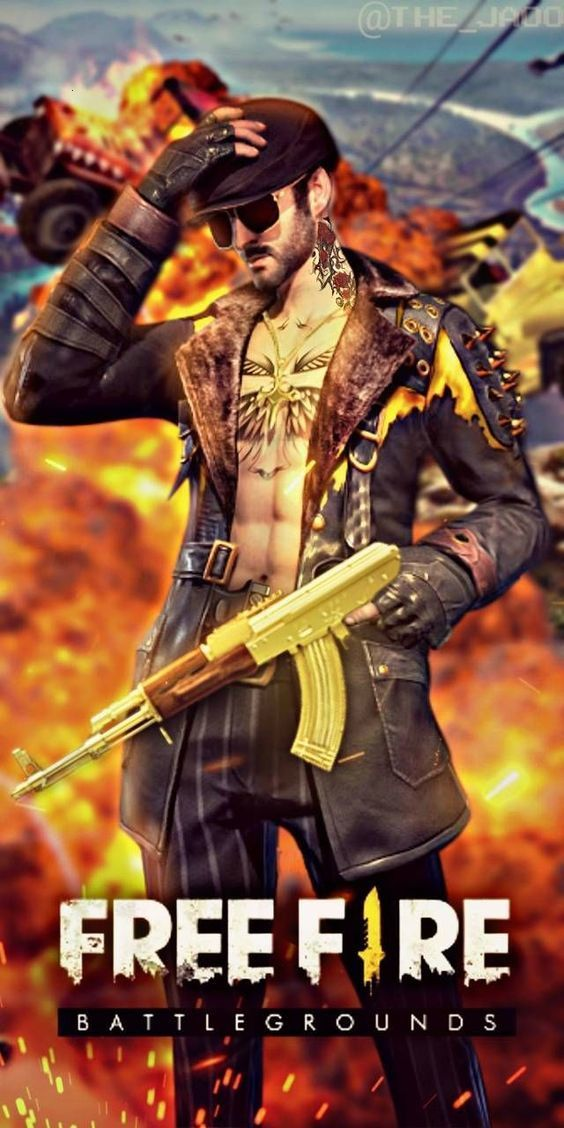 Free Fire Personajes Game Wallpaper Iphone Pc Games Wallpapers Fire Image