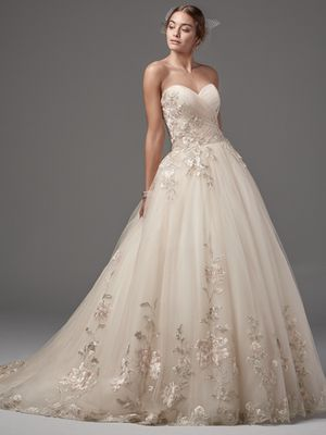 @Bellethemagazine wedding dresses | Sottero and Midgley Spring 2017 | Floor Blush Ball Gown Sweetheart $$$ ($2,001-3,000)
