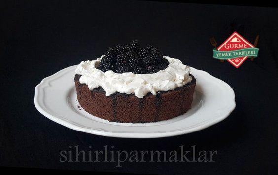 Böğürtlenli Pasta Tarifi - Gurme Yemek