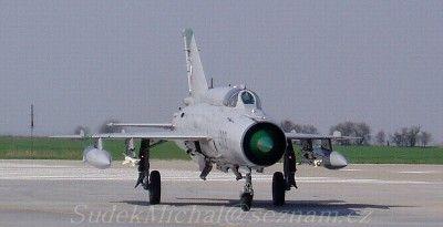 Mig-21MFN (Fishbed-J) 4003 Cz AF