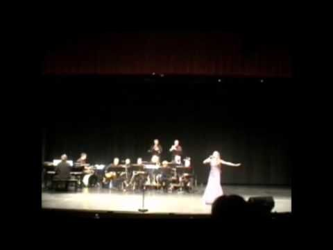 Julia Reynolds singing Feelin' Good with the Allen Myers Jazz Orchestra 2016 - YouTube