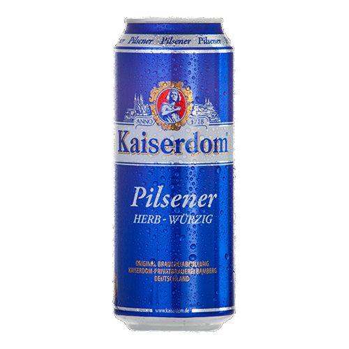 Bia Kaiserdom Pilsener 4.8% - Lon 500ml - Bia Đức Nhập Khẩu TPHCM
