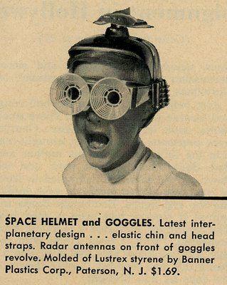 Vintage Space Goggle Helmet | Futurist | Pinterest ...