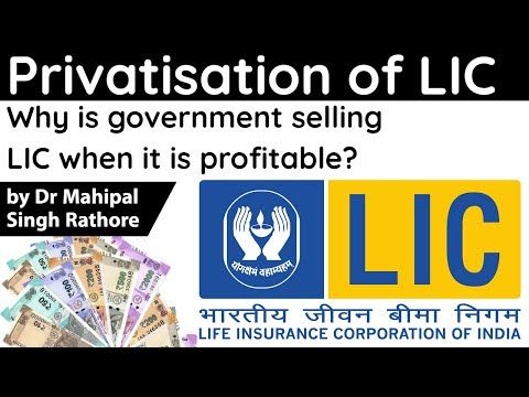 Lic Ipo Mega Disinvestment Plan Of Centre Explained How Lic Will