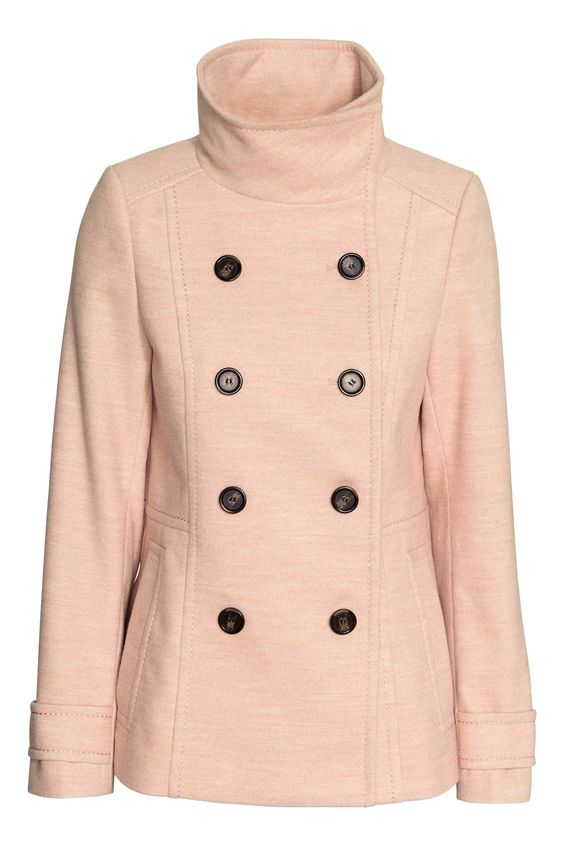 Beige coat by H&M .- Mine