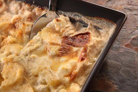 Potato Gratin with Chèvre