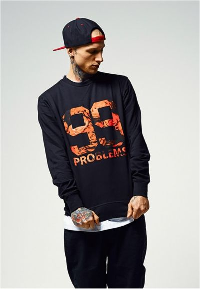 99 Problems Roses Crewneck Sweater - Portofrei bei Rudestylz #fashion #99problems #crewneck #sweater #herrenkleidung #style http://www.rudestylz.de/problrms-roses-sweater.htm