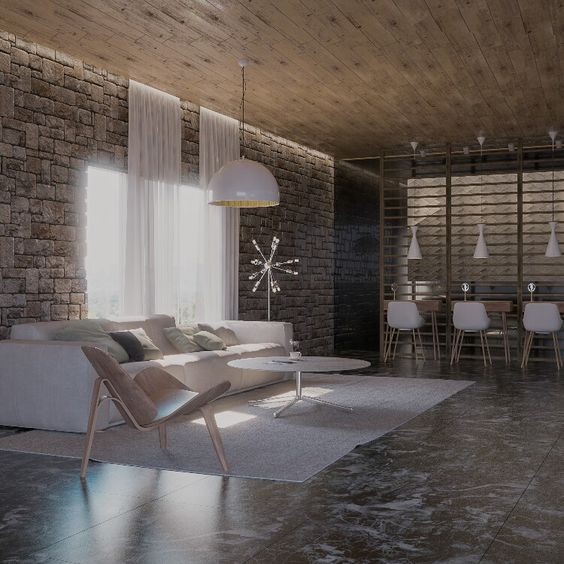 Living room-Vray, 3D-Max