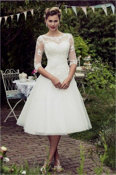 160 Simple Summer Wedding Dresses 2017 Trends And Ideas In 2020 Short Wedding Dress Wedding Dresses 50s Wedding Dresses 2017 Trend