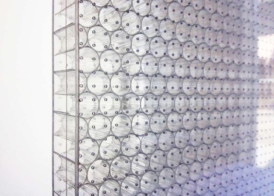 Bonded Series TCCTA (Tubular Clear Acoustic):  HONEYCOMB CORE: Clear UV-stabilized tubular polycarbonate with 7-millimeter-diameter cells  FACINGS: Clear tra...