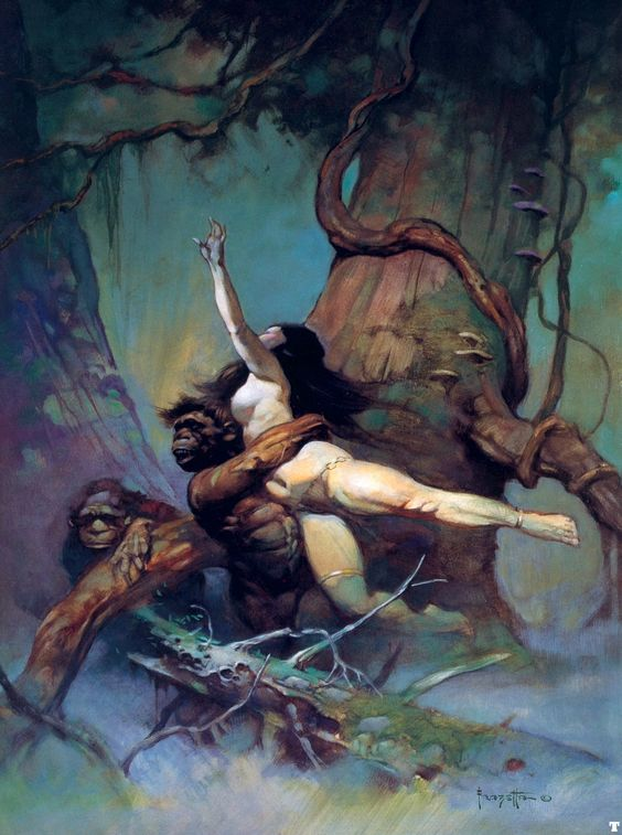 Google Image Result for http://www.cryptomundo.com/wp-content/uploads/frank_frazetta_captiveprincess.jpg: