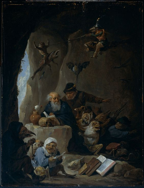 TENIERS David - la tentation de St Antoine - 1660