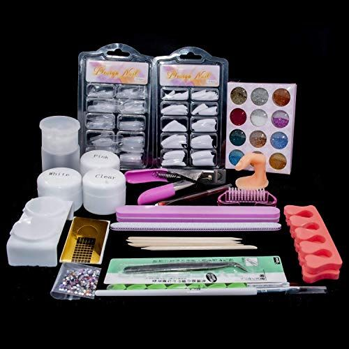 New Latorice Acrylic Powder Nail Set Acrylic Nail Art Kit 12 Colors Collection False Nail Tips Nail Art Decoration Tools Online Shopping Youllfindoffer In 2020 Nail Art Kit Powder Nails Acrylic Nail Art