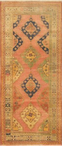 Turkish runner - ebay, 5X11.  Only $220.  Great colors - pink, navy, cream, green.  Too big for my space.