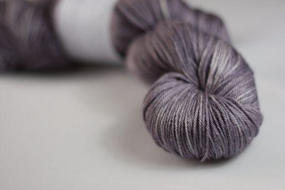 Titus 4ply in Storm - hand dyed superwash merino/silk 4ply sock yarn (UK Seller) ~ Eden Cottage Yarns / Etsy