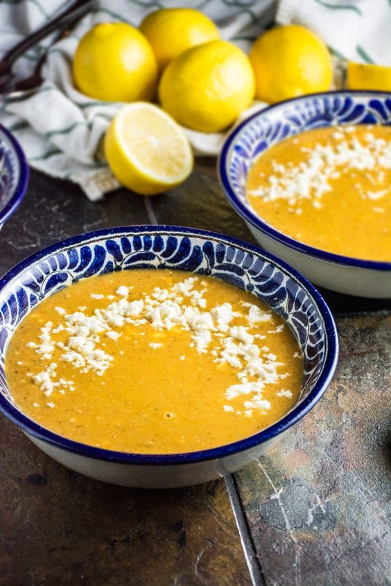 ... lentil soup roasted red peppers lentils red peppers soups lemon red