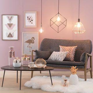 Rosegold Decor Pink Living Room Decor Pink Living Room Living Room Grey