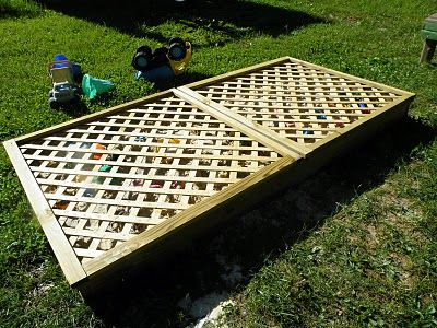 Lattice To Cover Sandbox. Need To Remember This! | DIY Woodworking |  Pinterest | Sandbox, Backyard And Yards