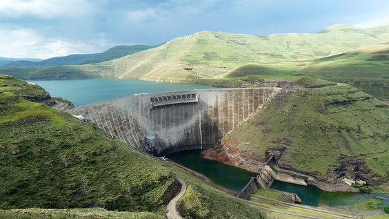 Dams - man changing the landscape #dam #mankind #change #influence #landscape