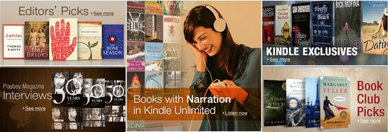 Kindle Unlimited- would love a subscription to this!