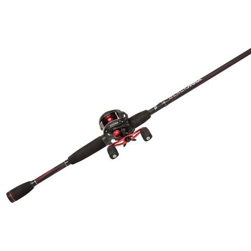 Abu Garcia Black Max Low Profile Baitcast Reel And Fishing Rod Combo Walmart Com Rod And Reel Fishing Rods And Reels Fishing Rod
