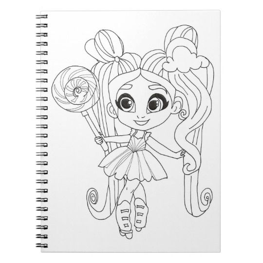Hairdorables Rayne Bow Coloring Notebook Zazzle Com Pokemon Coloring Pages Coloring Pages Pokemon Coloring