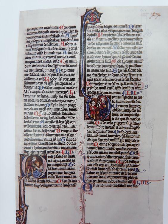 Biblia Vulgata. Biblioteca Historica USAL. s. XIII