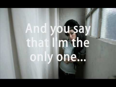 Amy Winehouse - Will You Still Love Me Tomorrow (lyrics)