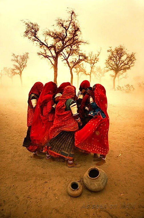 Zoom Photographe : Steve McCurry