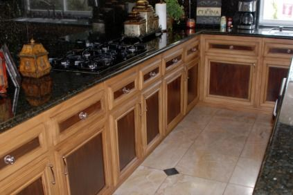 Two Toned Cabinets Cabinets And Stain Kitchen Cabinets On