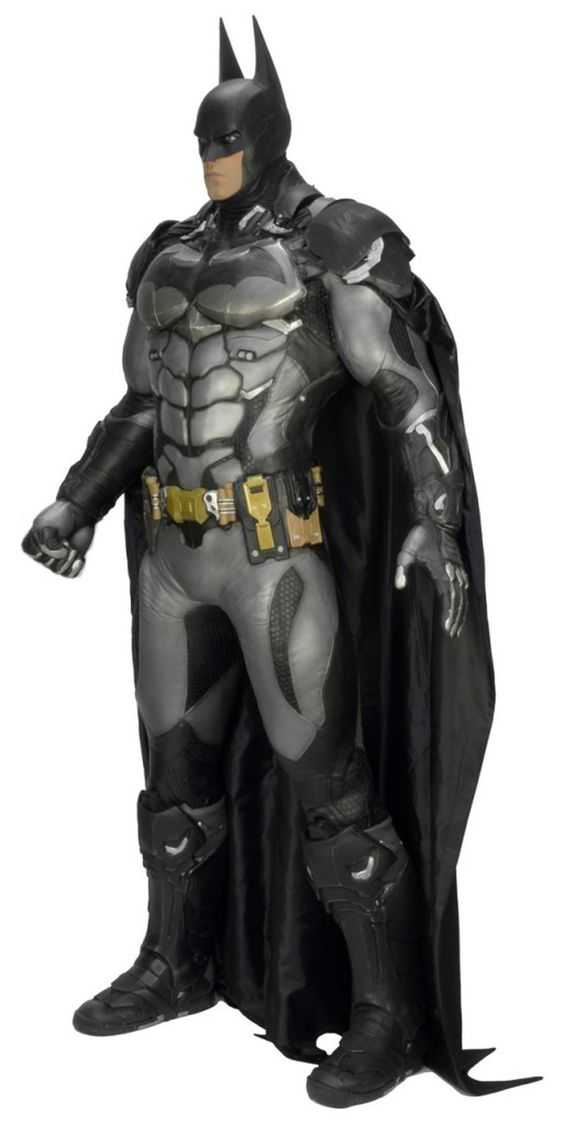 Complete your personal Batcave, and scare off potential burglars, with a life-size replica of Batman from the